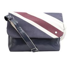 Union print messenger Bag
